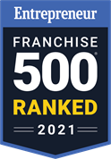 Entrepreneur Franchise 500 Top Franchise 2021