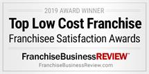Top Low Cost Franchise award
