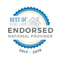 Best Of Home Care Endorse National Provider 2017-2019